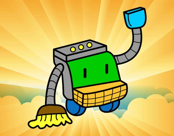 Dibujo de el super robot pintado por duban15 en dibujos - Robot de limpieza a vapor ...