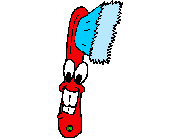 Dibujo de Cepillo de dientes pintado por Lajara en Dibujosnet el