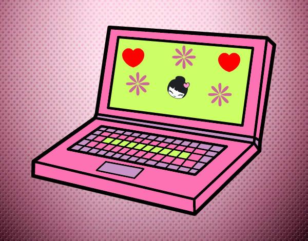 Dibujo de mi computador es igual pintado por Geni en Dibujos.net ...