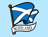 Dibujo Bandera de Escocia pintado por gomezeste