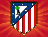 Dibujo Escudo del Club Atlético de Madrid pintado por martaramir