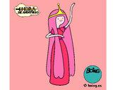 Dibujo La princesa Chicle pintado por Wichii
