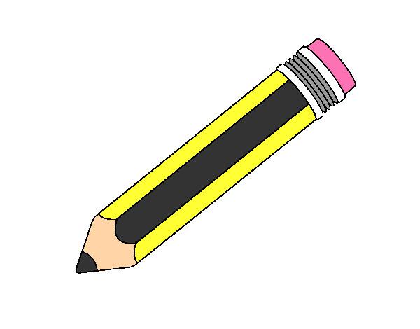 Dibujo De Un Lapiz De Color: Dibujo De Un Lapiz Pintado Por Alvaro2006 En Dibujos.net