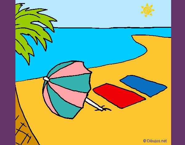 Dibujo de Verano 4 pintado por Queyla en Dibujos.net el día 19-05 ...