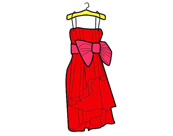 Dibujo De El Vestido Pintado Por Karen19845 En Dibujos.net