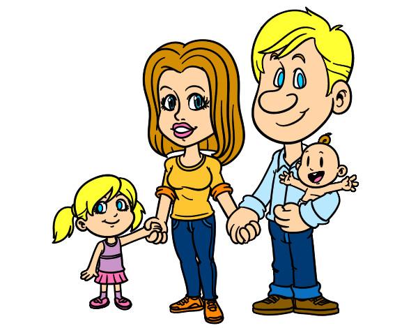 Dibujo De Happy Family Familia Feliz Pintado Por Tanialoveh En