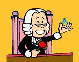 Dibujo Juez pintado por valelina02
