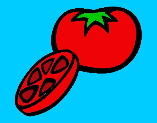 Dibujo de Tomate pintado por Marta1 en Dibujos.net el día 03-06-12 ...
