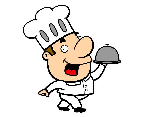 Dibujo de cocinero pintado por sarita9 en el for Herramientas de un cocinero