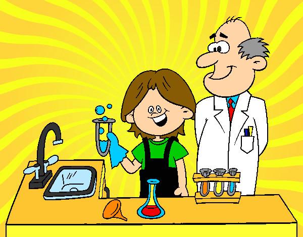 Dibujo de NIÑO CIENTIFICO pintado por Kitamy en Dibujos.net el día ...
