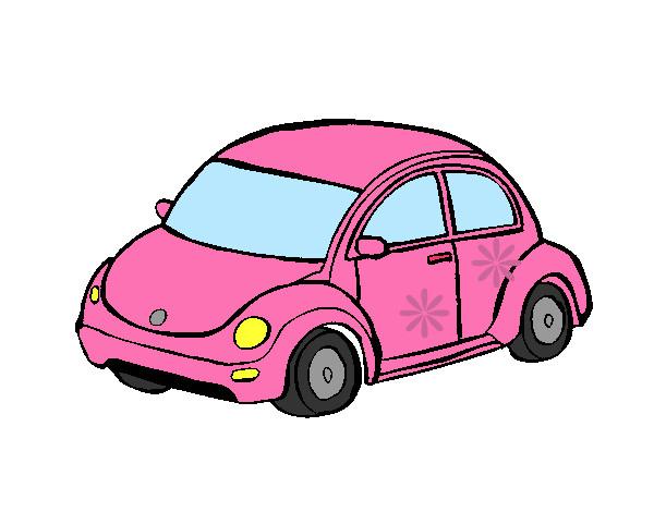 Dibujo De Auto Rosa Pintado Por Nurii En Dibujos Net El D 237 A 12 06 12 A Las 00 18 52 Imprime