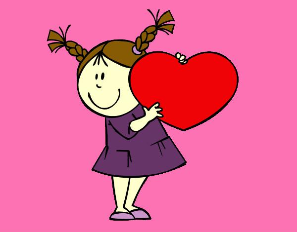 Dibujo de si tu corazon late dejalo latiendo pintado por Anatina