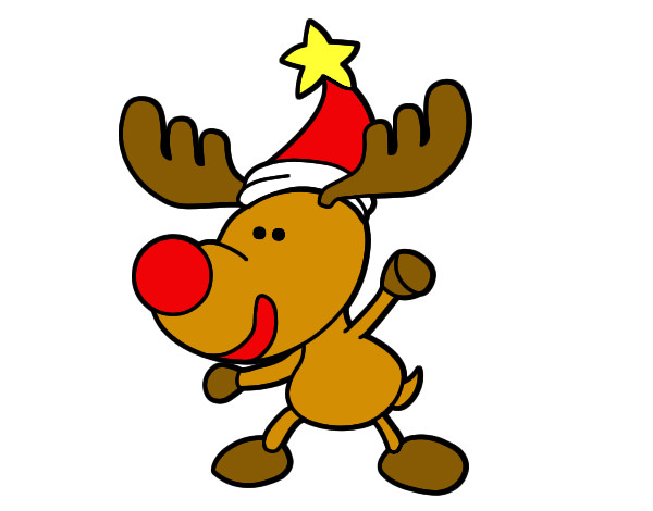 imagen de reno navide o imagui