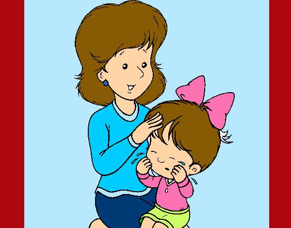 Dibujo de mi mama y yo jejejeje!!!!!!!!! pintado por Criistina en ...