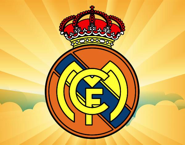 Dibujos Para Colorear Escudo Real Madrid: El Escudo Del Madrid