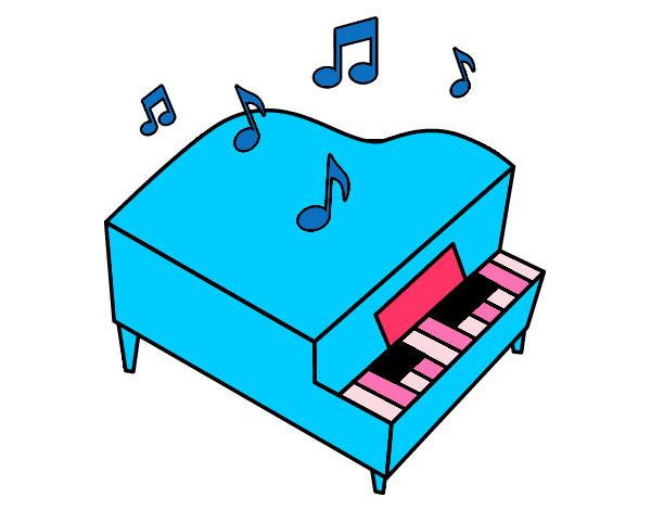 piano de cola de piano leer libro