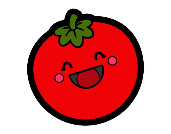 Dibujo de tomato pintado por Lexamoxie1 en Dibujos.net el día 03 ...