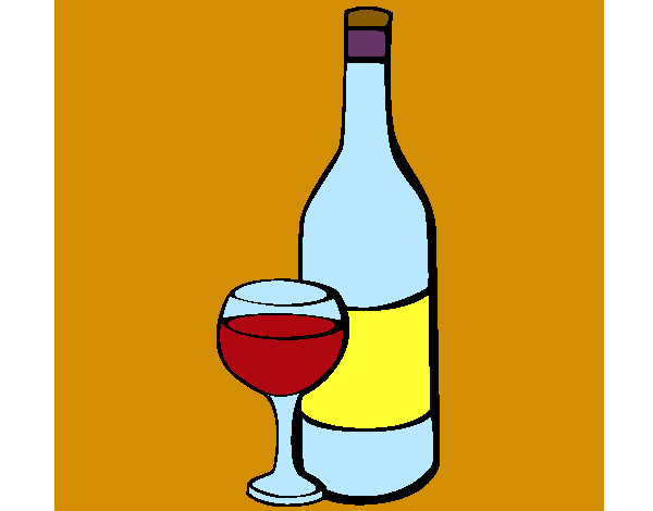 The Gallery For --> Botella De Vino Dibujo