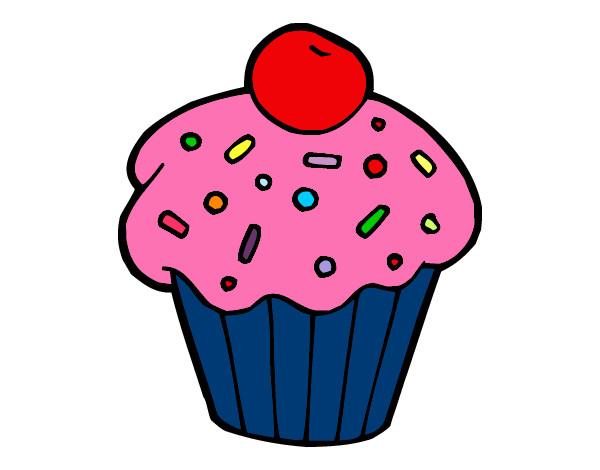 Dibujos De Muffins Para Pintar