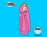 Dibujo La princesa Chicle pintado por cucui1233