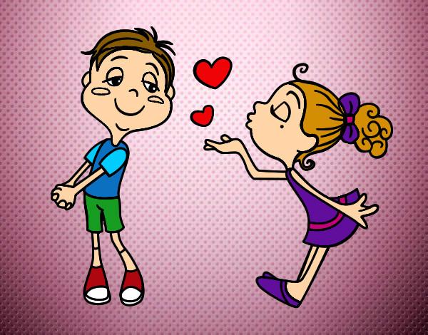 Dibujo De Beso! Deseado Pintado Por Lara308 En Dibujos.net