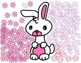 Dibujo Art el conejo pintado por nenufa