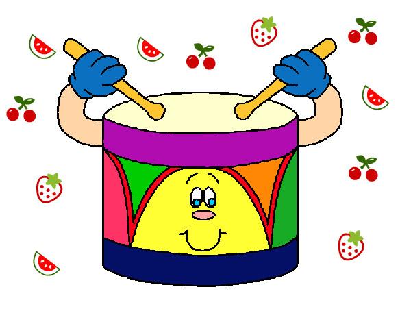 Pin xilofono y tambores 36000 on pinterest for Dibujos infantiles pintados