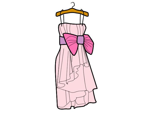 Dibujo de Vestido de fiesta pintado por Ashley205 en Dibujos.net ...