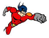 Dibujo Superhéroe sin capa pintado por KRISHNAG