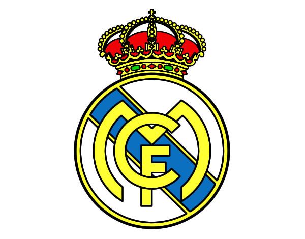 Dibujo de escudo real madrid pintado por Zaray en Dibujos.net el ...
