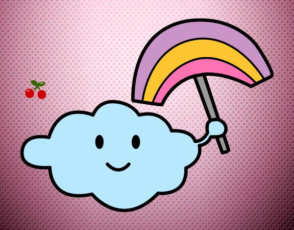 Dibujo de nube andres pintado por Sangy en Dibujos.net el día 12 ...