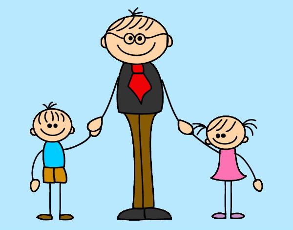 Dibujo de día del padre pintado por M-l-p-c en Dibujos.net el día ...