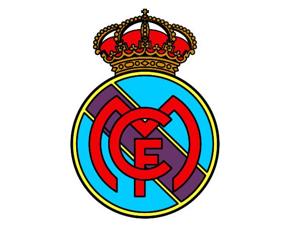 Dibujo de Escudo del Real Madrid C.F. pintado por Edgar2000 en ...