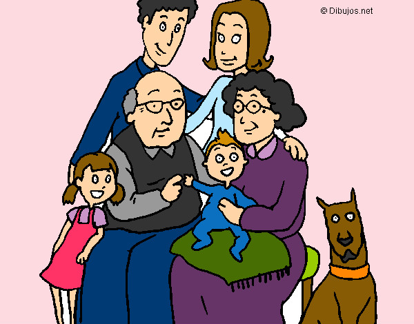 Dibujo de La familia pintado por Yulii en Dibujosnet el da 13