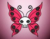 Dibujo Mariposa Emo pintado por valeriapaz