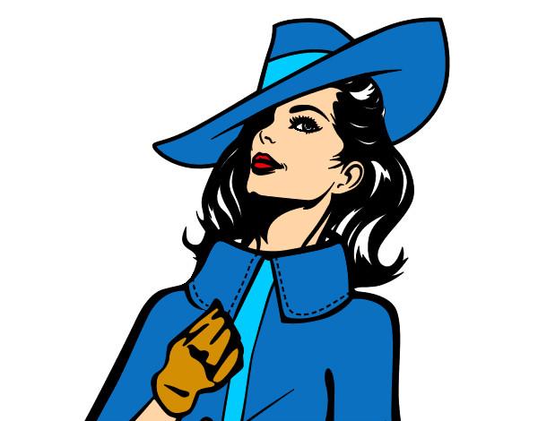 Dibujo de mujer sofisticada pintado por Roci82 en Dibujos.net el ...
