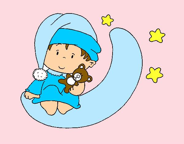 Dibujo de Bebé 1 pintado por Jhoayy en Dibujos.net el día 22-08-12 ...