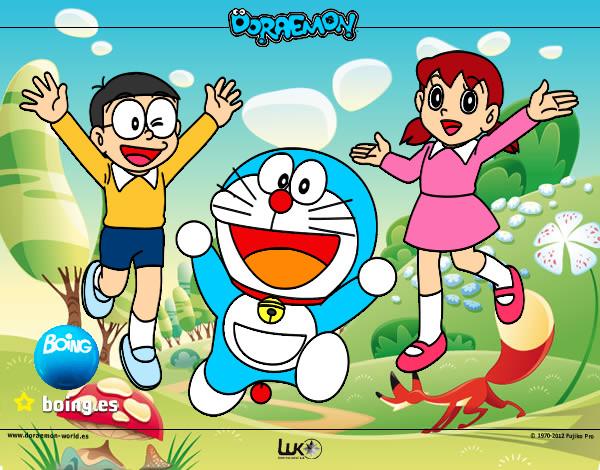 Dibujo de Doraemon Y Sus Amigos pintado por 1alextron en ...