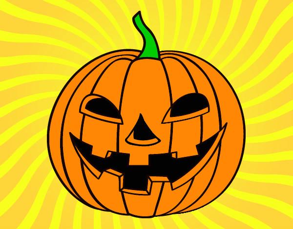 Dibujo de calabaza malvada pintado por laiatiana en el d a 29 08 12 a las 08 09 31 - Calabazas de halloween pintadas ...