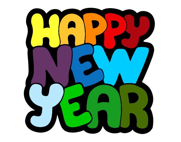 Dibujo de Feliz año nuevo pintado por Sabru en Dibujos.net ...