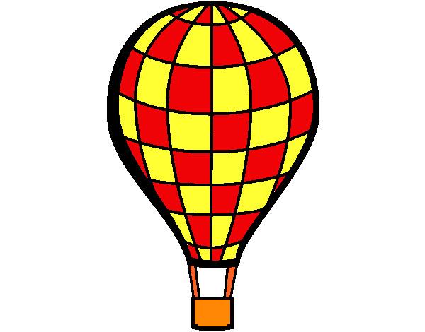 Dibujo de Globo aerosttico pintado por Ivan12600 en Dibujosnet