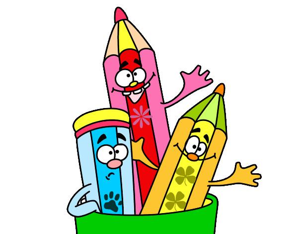 Dibujo de lápices pintado por Marializ en Dibujos.net el día 27-08 ...