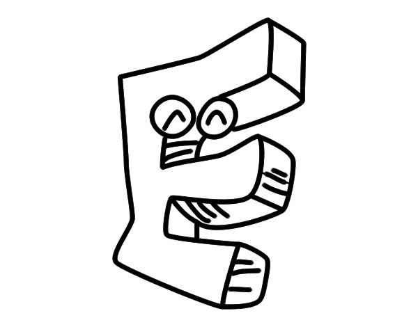 Dibujo de Letra E pintado por Raimond1 en Dibujos.net el día 01-09 ...