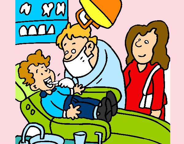 Dibujo De Dentista Pintado Por Corinah En Dibujos Net El