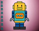 Dibujo Robot alto pintado por chaavaa18