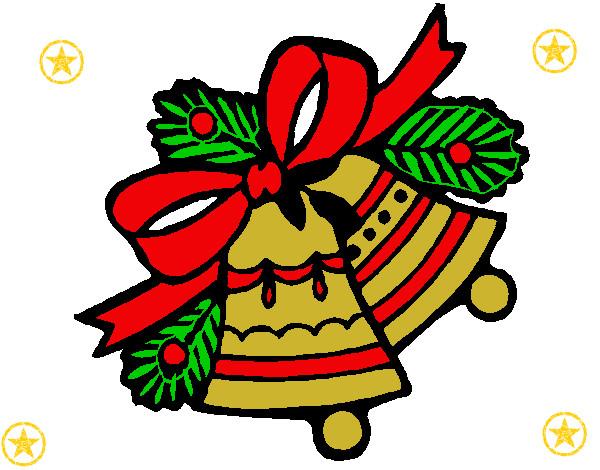 Dibujo de campanas de navidad 1 pintado por caramelo89 en for Dibujos de navidad pintados