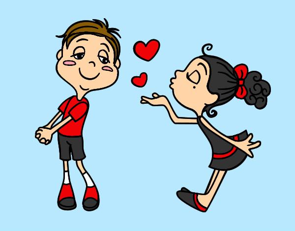 Dibujos De San Valentín: Dibujo De San Valentin Pintado Por Cassy En Dibujos.net El