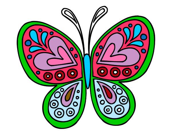 mandala-mariposa-mandalas- ...