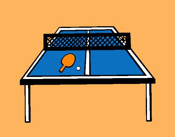 Dibujo de tenis de mesa pintado por jfrkffkkf en dibujos - Bolas de pin pon ...