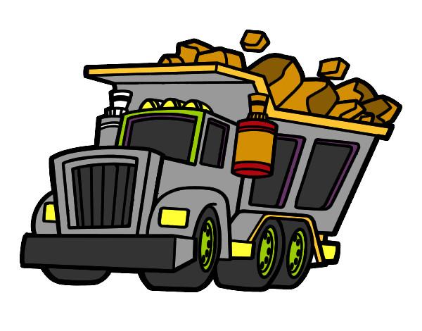 Dibujo de Camion de Basura pintado por Augus04 en Dibujos.net el ...